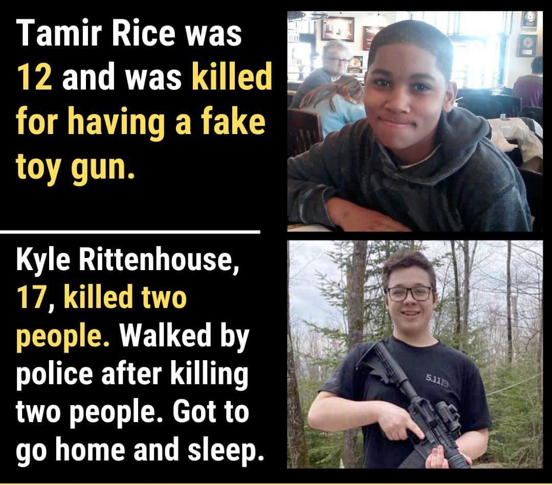 Tamir Rice Kyle Rittenhouse credit to Ryan J Downey